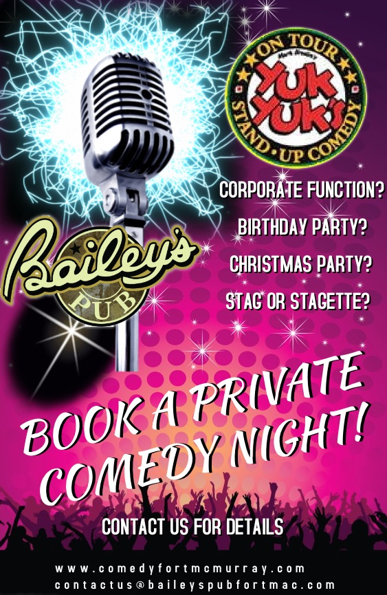 Private Booking Yuk Yuk's Comedy Night